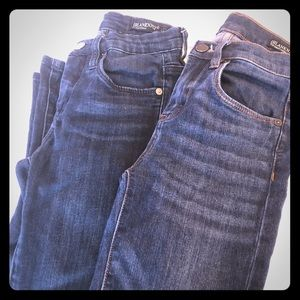 Two pairs of Blank NYC jeans